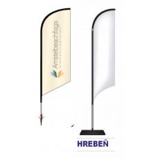 Vlajka beachflag - Hrebeň